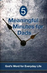 5 Meaningful Moments for Dads, Pocket-Size Devotion Book