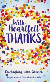 Heartfelt Thanks Gift Book, Paperback