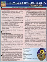 Comparative Religion: Christianity , Laminated Guide