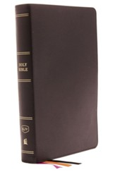 KJV Minister's Bible--genuine leather, black (red letter edition)