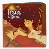 Jesus is Born, Board Book