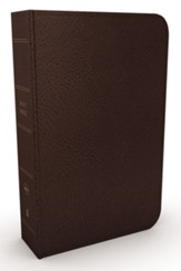 NKJV Minister's Bible--imitation leather, brown (red letter edition)