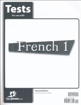 BJU French 1 Tests, Second Edition
