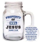 Property of Jesus Glass