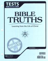 Bible Truths A Test Answer Key, Grade 7, 3rd Edition