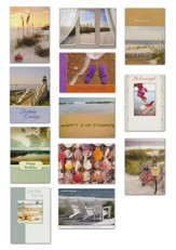 Shoreline Greetings, All Occasion Cards, Box of 24