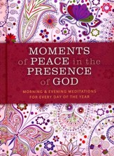 Moments of Peace in the Presence of God  Paisley Edition - Slightly Imperfect