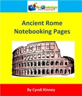 Ancient Rome Notebooking Pages - PDF Download [Download]