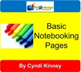 Basic Notebooking Pages - PDF  Download [Download]