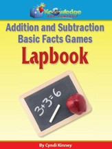 Addition & Subtraction Basic Facts Games Lapbook - PDF Download [Download]