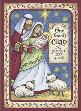 One Small Child (James 1:17, KJV), 20 Count Boxed Christmas Cards