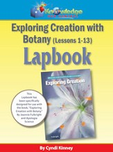 Apologia Exploring Creation with  Botany Package Lessons 1-13  Lapbook - PDF Download [Download]