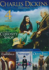 Charles Dickens Collection: The Old Curiosity Shop,  David Copperfield, Scrooge, and Oliver Twist