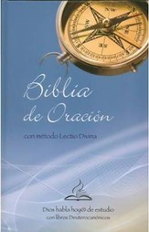 Biblia de Oracion Catolica c/Lectio Divina, Enc. Dura  (DHH Catholic Prayer Bible w/Lectio Divina Method, Hardcover)