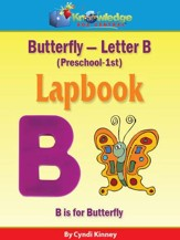 Butterfly - Letter B Lapbook (PreK-1st) - PDF Download [Download]