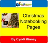 Christmas Notebooking Pages - PDF Download [Download]