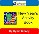 New Year's Activity Book ~ Holiday Fun - PDF Download [Download]