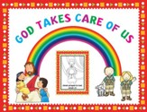 Instant Bulletin Board - God Takes Care of Us - PDF Download [Download]