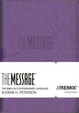 The Message//REMIX 2.0, Purple Swirl - Slightly Imperfect