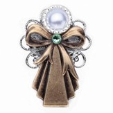 Always Brave Angel Pin, Light Green