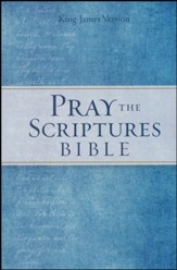 KJV Pray the Scriptures Bible, hardcover
