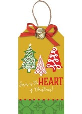 Jesus Is the Heart of Christmas, Christmas Tag Ornament
