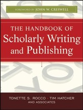 The Handbook of Scholarly Writing and Publishing - eBook