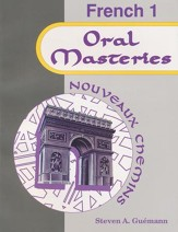 Nouveaux Chemins French Year 1 Oral Mastery Exercises