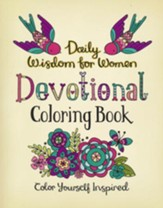Daily Wisdom for Women Devotional Coloring Book: Color Yourself Inspired