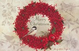 Winterberry Christmas Cards, Box of 18