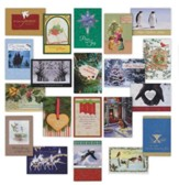 Value Box, Assorted Christmas Cards, Box of 24