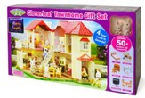Calico Critters, Cloverleaf Townhome Gift Set