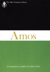 The Book of Amos: Old Testament Library [OTL] (Hardcover)