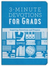 3-Minute Devotions for Grads, Imitation Leather