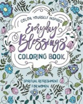 Spiritual Refreshment for Women: Everyday Blessings Coloring Book