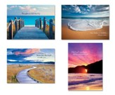 Ocean Scenes Encouragement Cards, Box of 12