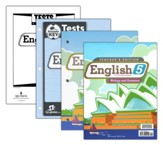 BJU English Grade 5, Homeschool Kit (Second Edition)