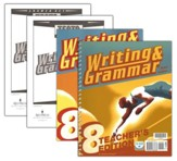 BJU Writing & Grammar Grade 8,  Homeschool Kit (Third Edition)