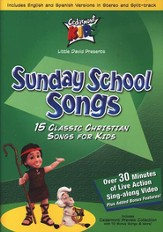 Sunday School Songs on DVD