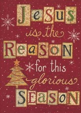 Reason For The Season (Matthew 1:23, NIV), 20 Count Boxed Christmas Cards
