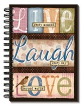 Live, Laugh, Love, Journal