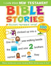 I Can Read New: Testament Bible Stories