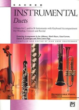Sacred Instrumental Duets, Book Only