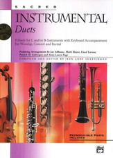 Sacred Instrumental Duets, Book & CD