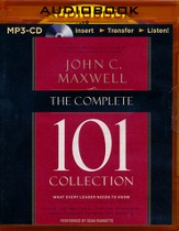 The Complete 101 Collection: What Every Leader Needs to Know - unabridged audiobook on MP3-CD