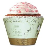 Communion, Cross and Chalice Cupcake Wrappers, Pack of 12