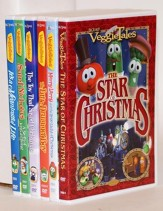 VeggieTales Christmas Bundle, 6 DVDs