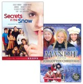 Mandie & the Forgotten Christmas + Secrets in the Snow, Combo Pack