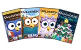 Owlegories Volumes 1-4, 4 DVD Bundle