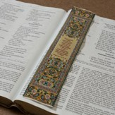 Carpet Bookmark, Yellow, Proverbs 3:5-6